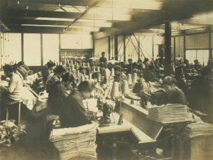 「森被服工場」として創業